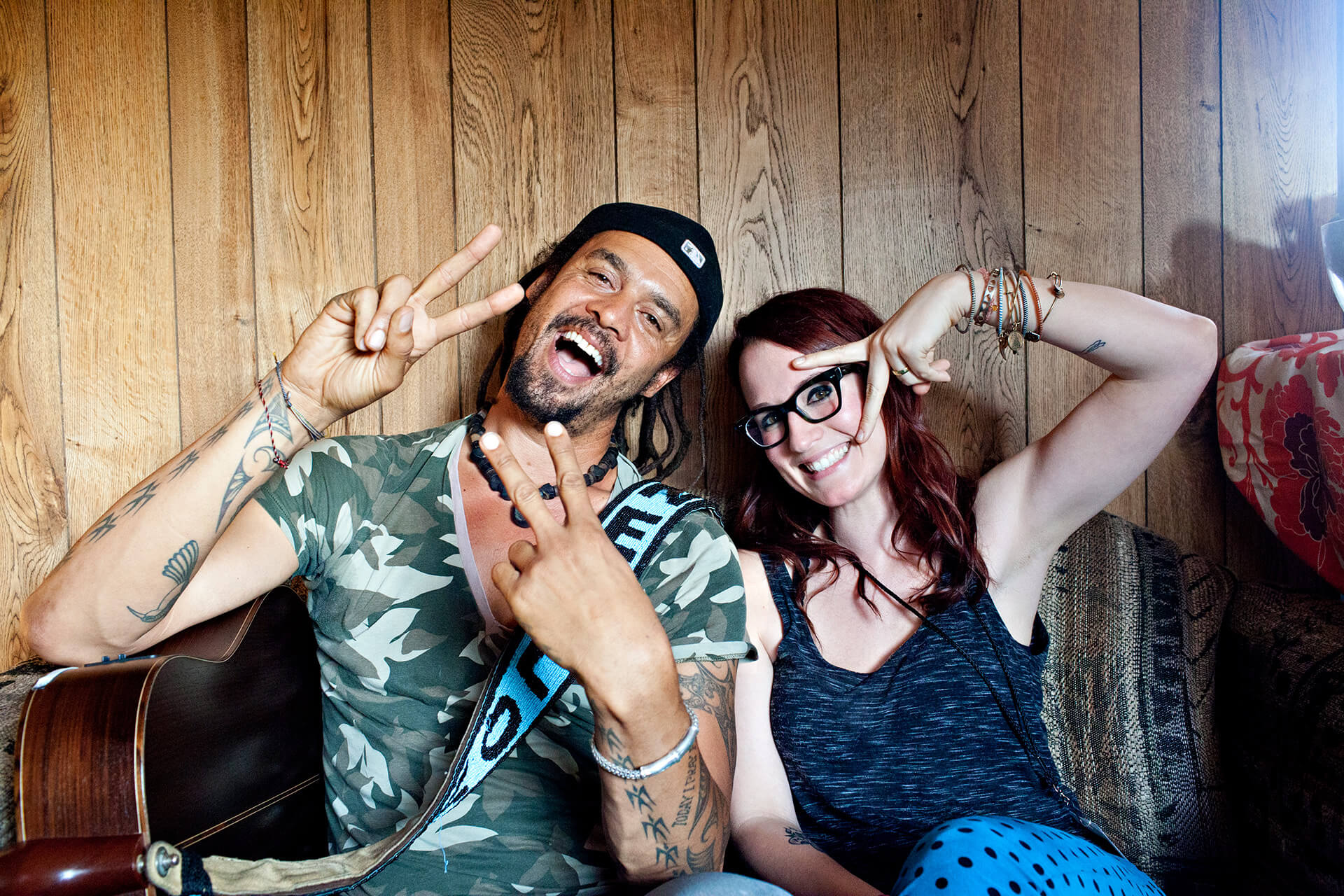 mf and ingrid michaelson by Steve Rosenfield Photography